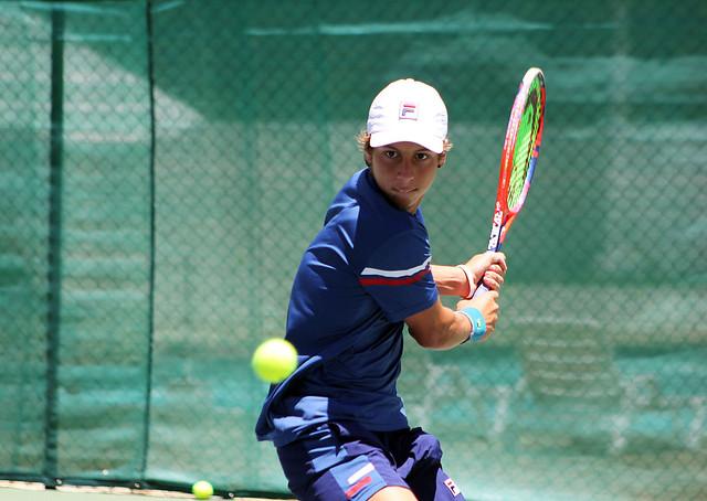 Torneio no Bahiano de Tênis