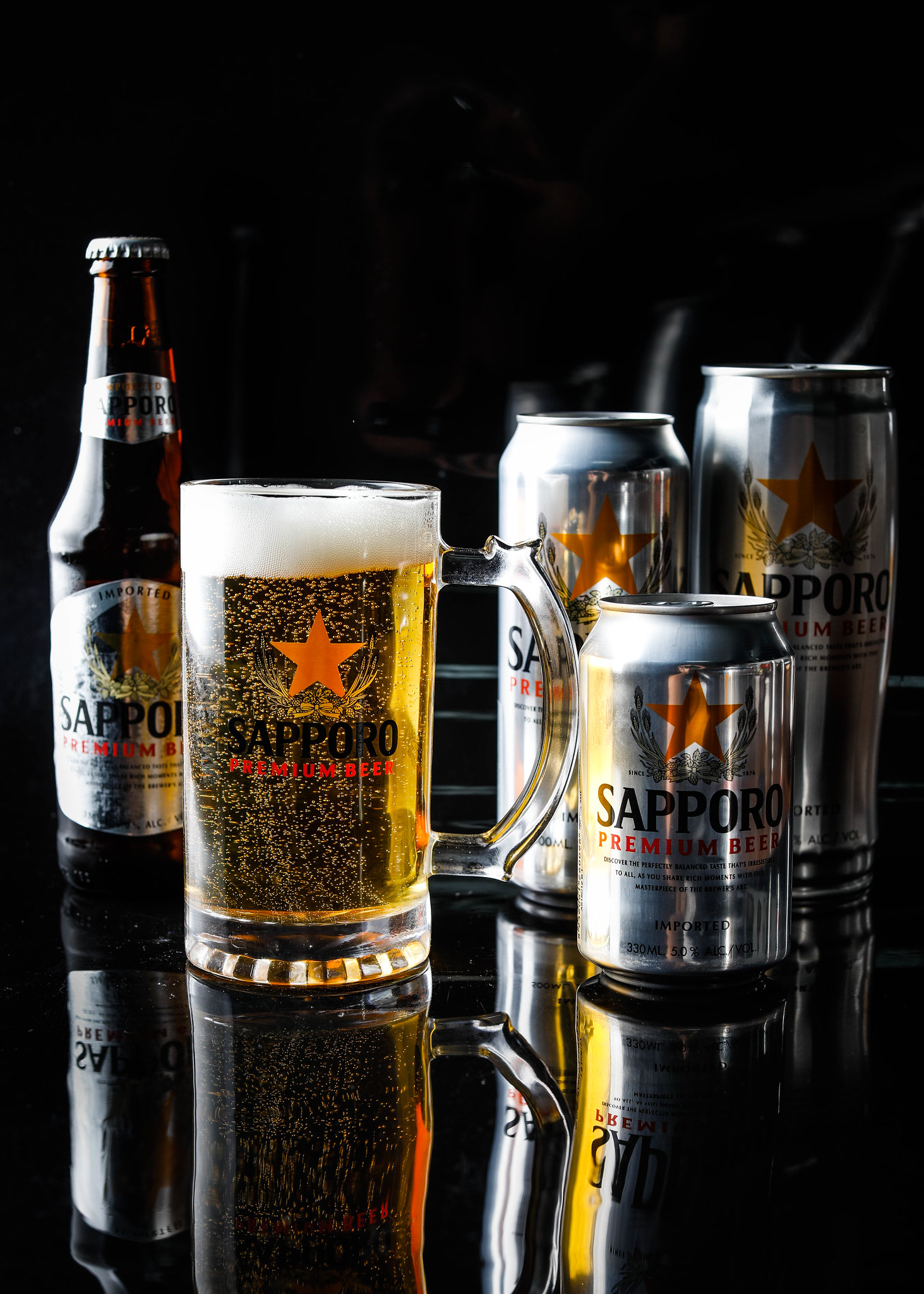 Assorted Sapporo Premium Beer 2