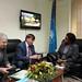 Secretary General Chileshe Kapwepwe with Russian Ambassador-12