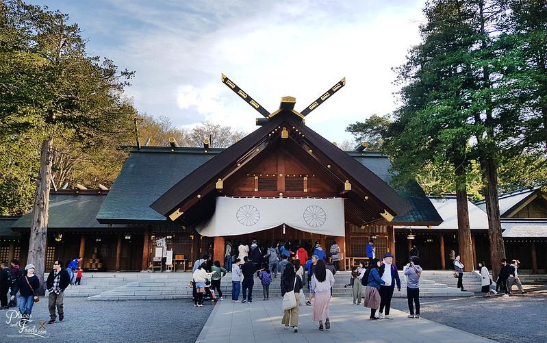 hokkaido shrine mikado sapporo
