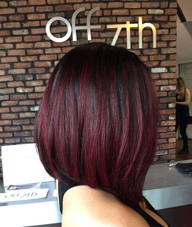 best burgundy hair dye to Rock this Fall 2019 24