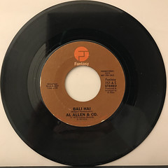 AL ALLEN & CO.:BALI HAI(RECORD SIDE-A)