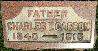 Charles grave marker