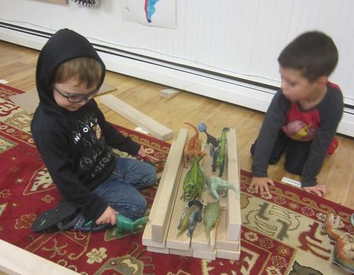 the dinosaur bridge