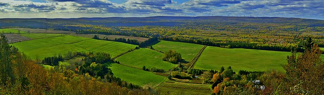 Greenhill lookoff in Pictou County, Nova Scotia