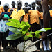 Planting roots for education: UNMISS peacekeepers donate tree seedlings to local school in Juba
