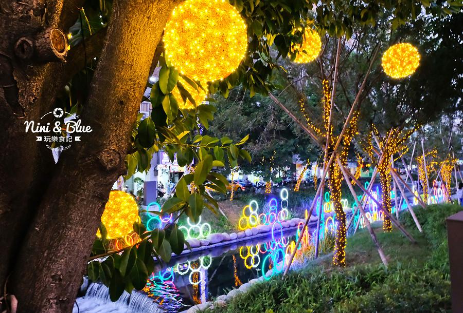 柳川水岸 2018 新盛綠川 燈節 IG打卡05