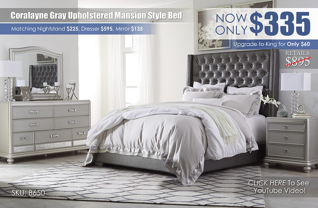 Coralyne Gray Upholstered Bed_B650-31-136-78-76-93-Q755