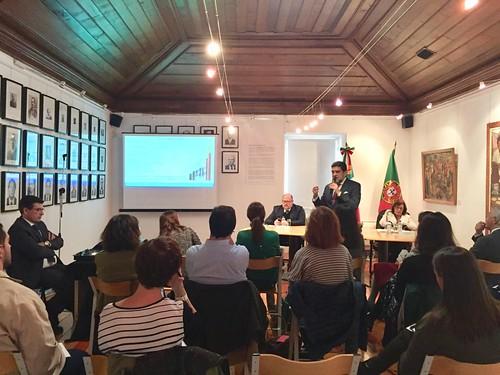 El Embajador de México en Portugal recibe a los periodistas que viajarán a Guadalajara a cubrir la FIL2018