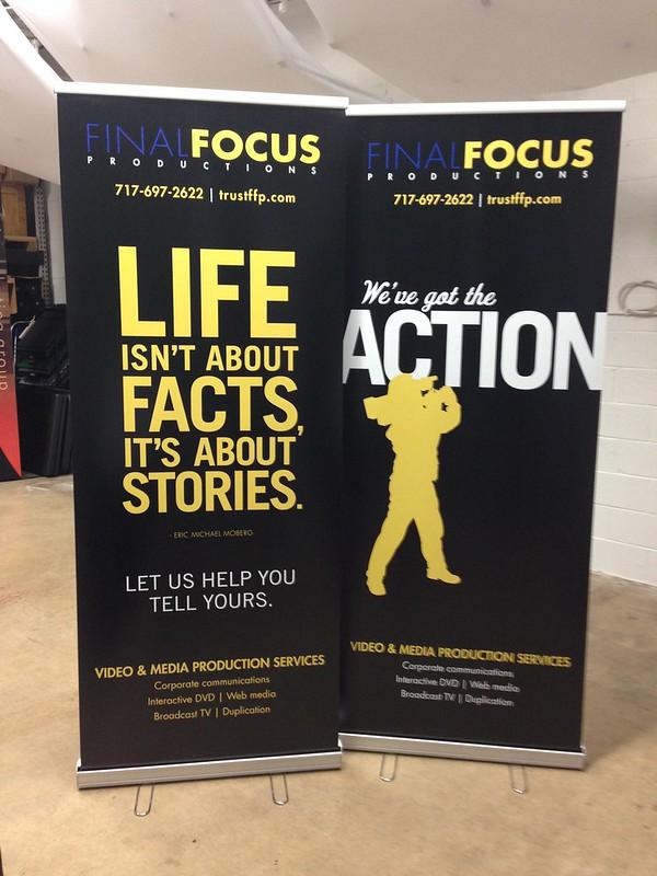 Final Focus Banners