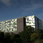 UCLan Media Building in Preston