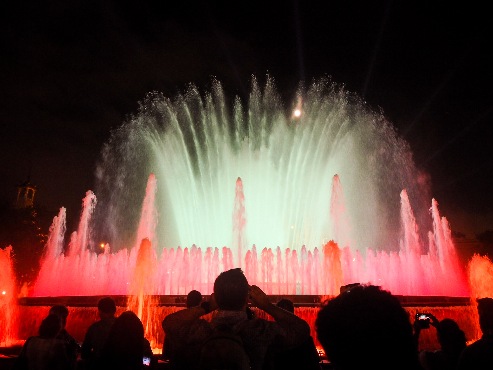 The Magic Fountain of Montjuïc suihkulähde