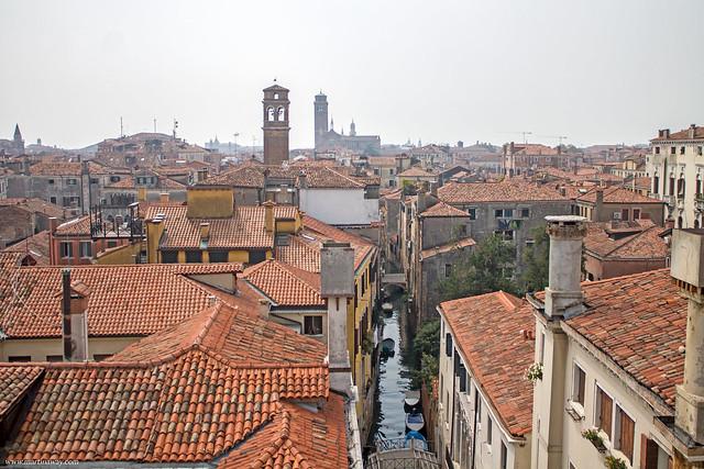 Vista da Ca' Pesaro, Santa Croce Venezia