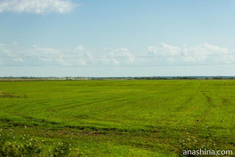 Распаханные поля, Карелия