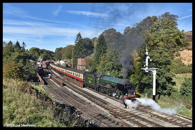 No 926 Repton 27th Sept 2018 North Yorkshire Moors Railway Goathland