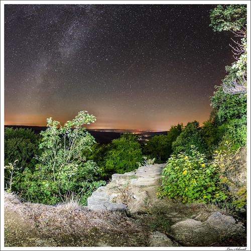 Sternenhimmel über dem Kanstein