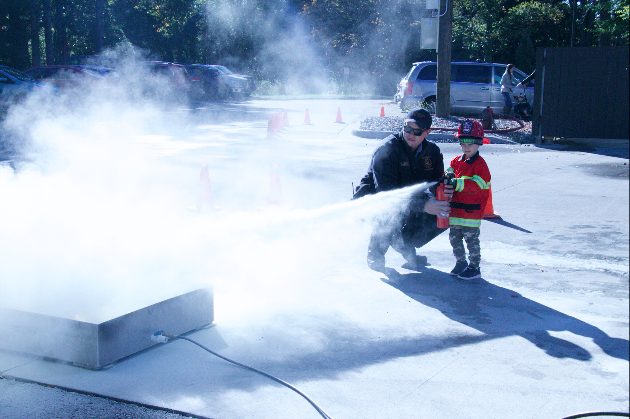 Meridian Township Fire Department Hosts Fire Prevention Open House
