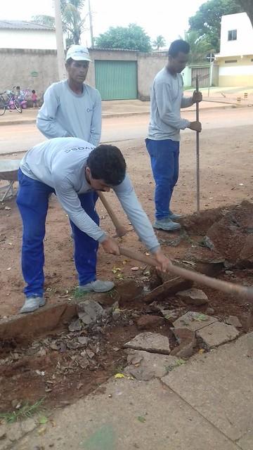 Prefeitura de Santo Antônio realiza obras de acessibilidade para idosos do Vila Vida
