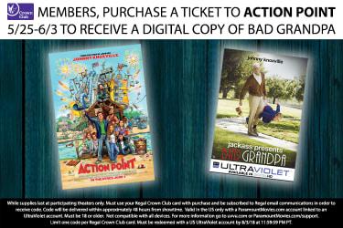 Regal Cinemas Free Digital Copies - Blu-ray Forum