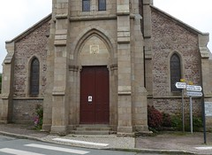 Plévenon Façade de l'Église Saint-Pierre