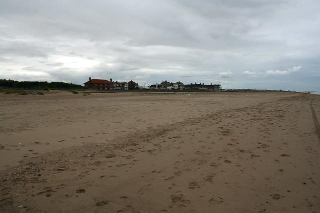 The beach at Seathorne