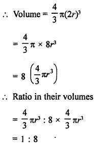 RD Sharma Solutions Class 9 Chapter 21 Surface Areas and Volume of a Sphere