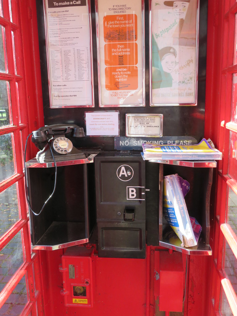 Old Phone Box at Avoncroft Museum - Download Photo - Photo Search Engine