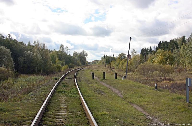 Бывшая станция Чёрный Дор.