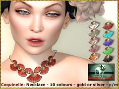 Bliensen - Coquinelle - necklace