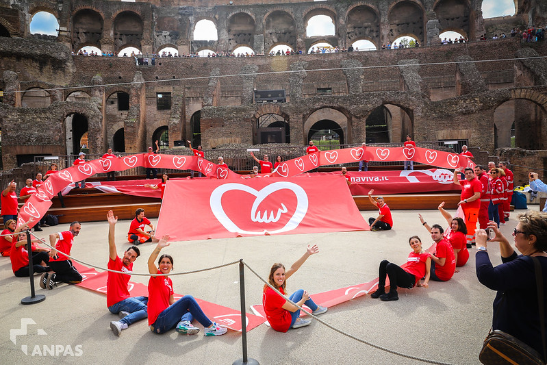Anpas e IRC al Colosseo per il World Restart A Heart Day