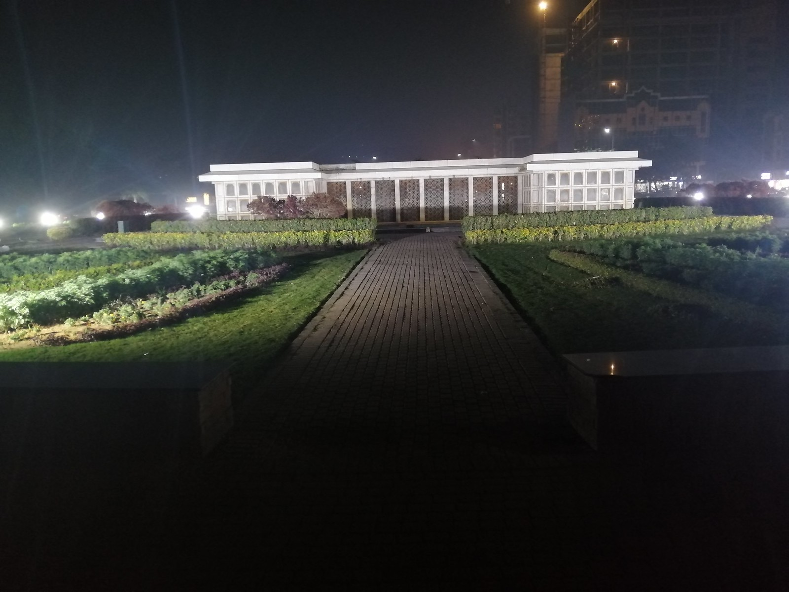 Image at night with Auto Mode on Honor 8X