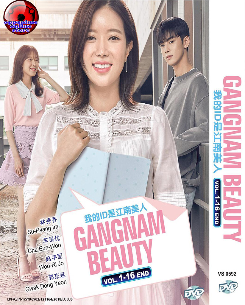 Korean Drama Gangnam Beuty Vol 1-16 End DVD