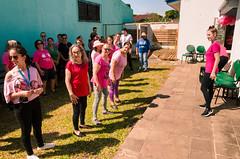 Ação Outubro Rosa - Fisioterapia Unisinos