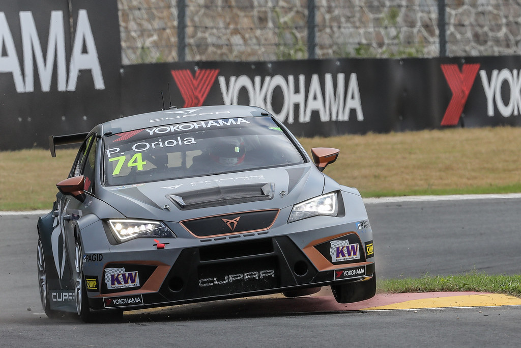 74 ORIOLA Pepe, (esp), Seat Cupra TCR team Oscaro by Campos Racing, action during the 2018 FIA WTCR World Touring Car cup of China, at Ningbo  from September 28 to 30 - Photo Marc de Mattia / DPPI