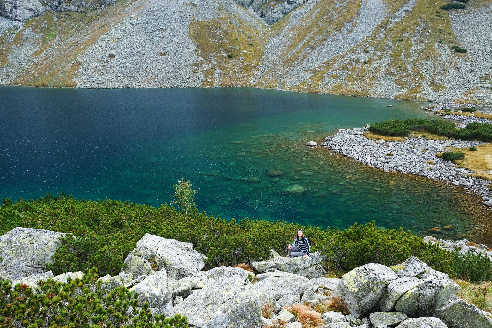 Vyšné Temnosmrečinské pleso, High Tatras
