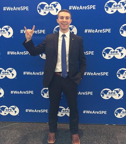 UT PGE undergraduate student, Jack Trueblood, takes second place in the SPE International Paper Contest.