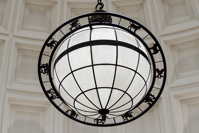 NYC: NYBG Zodiac Globe
