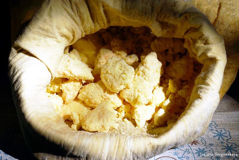Сыр из мешка