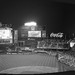Citi Field - Mets Vs Reds, Queens - New York. A 4 shot panorama on film, un-cropped. Camera: Olympus XA (1979). Film: Kodak Tri-X 400. by Shaun Nelson