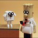 Dilbert and Dogbert 1 by grubaluk