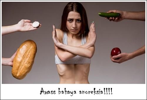 Ternyata Diet Seperti Ini Yang Menyebabkan Anoreksia