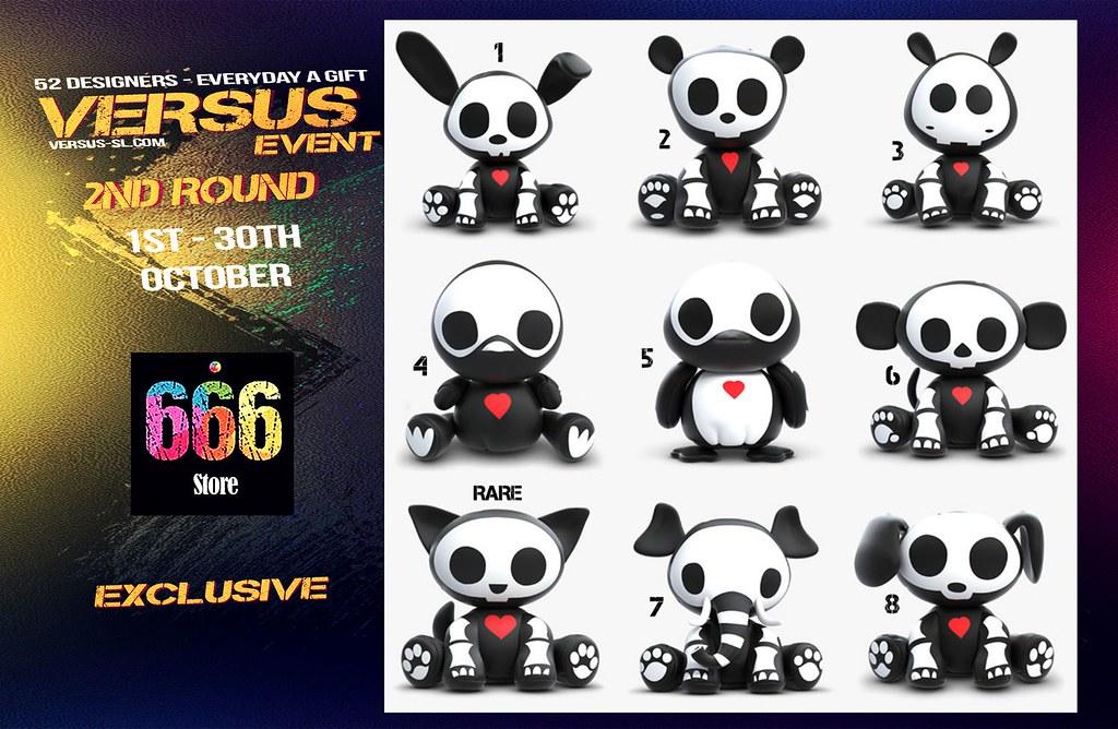 VERSUS EVENT 2ND ROUND 666 Exclusive