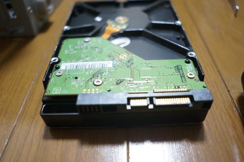 HDDが故障したがデータ復旧した