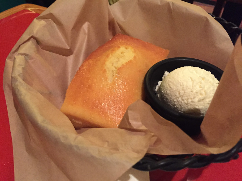 Cornbread at Whispering Canyon Cafe