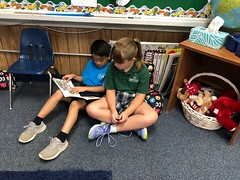 1st grade reading buddies