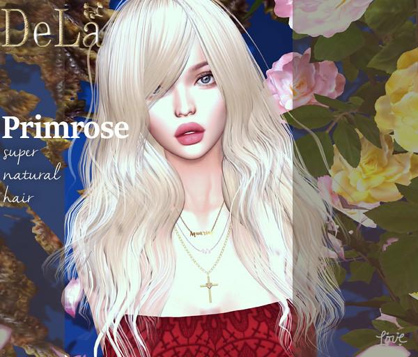"=DeLa*= new hair ""Primrose"""