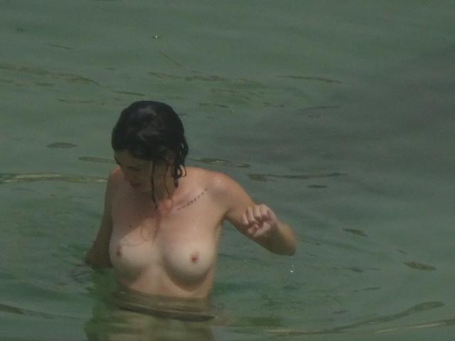 Woman in Green Water