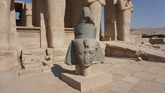 The Ramesseum Temple, West Bank, Luxor, Egypth