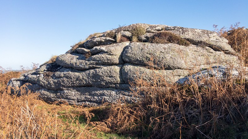 Tunnaford Rocks upper outcrop