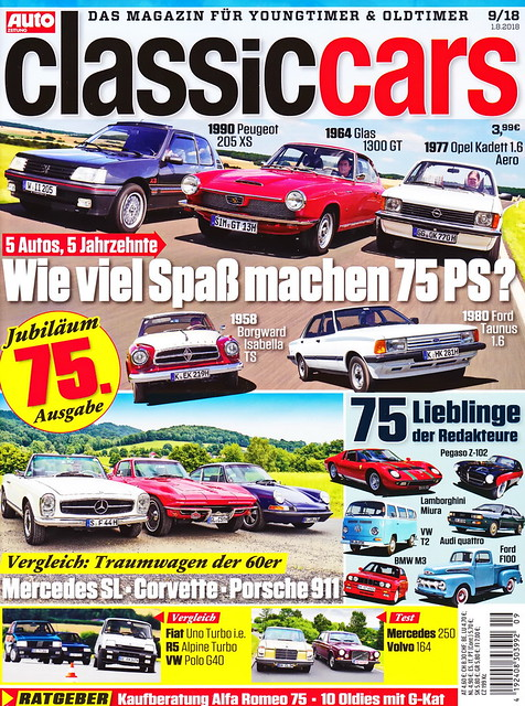 Auto Zeitung - Classic Cars 9/2018
